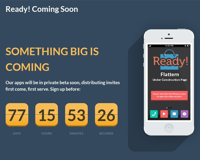 Coming Soon Maintenance Mode Ready WordPress